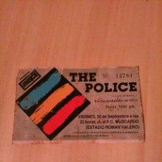 Entradas de Conciertos: THE POLICE, MADRID . Lote 80206741