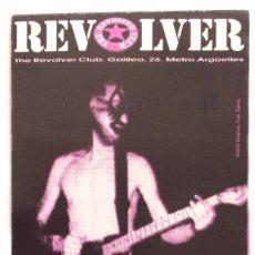 Entradas de Conciertos: THE REVOLVER CLUB PROGRAMA ORIGINAL MARZO1993 DWARVES FOTO KIKE TURMIX. Lote 118948222