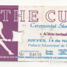 Entradas de Conciertos: (ALB-TC-7) ENTRADA CONCIERTO THE CULT. Lote 89798868
