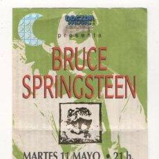 Entradas de Conciertos: (ALB-TC-7) ENTRADA CONCIERTO BRUCE SPRINGSTEEN'S. Lote 89798892