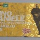 Entradas de Conciertos: ENTRADA CONCIERTO - PINO DANIELE - PAOLO DI NAPOLI - 1998 - TDKP6. Lote 94547335