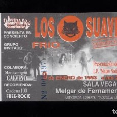 Entradas de Conciertos: 14 ENTRADAS DE CONCIERTO DE LOS SUAVES NUEVAS GIRA 1994-1995. Lote 95799791