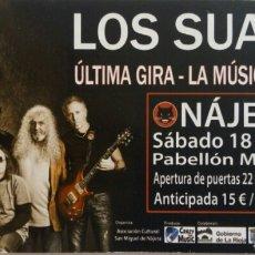 Entradas de Conciertos: ENTRADA CONCIERTO DE LOS SUAVES. Lote 95886932