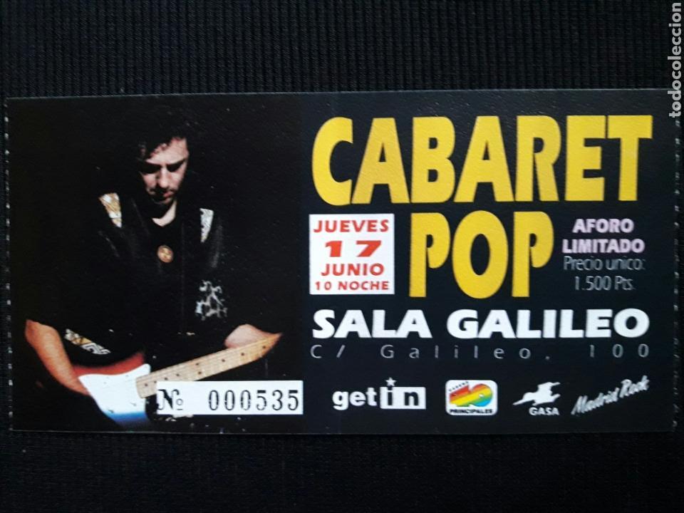 Entrada cabaret pop duncan dhu sala galileo mad comprar for Sala galileo conciertos
