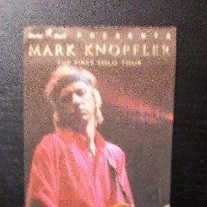 Entradas de Conciertos: MARK KNOPFLER THE FIRST SOLO TOUR 1996 ENTRADA ORIGINAL COMPLETA BILBAO. Lote 97700647