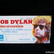 Entradas de Conciertos: BOB DYLAN.. Lote 97970647
