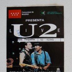 Entradas de Conciertos: ENTRADA 1º CONCIERTO DE U2 EN ESPAÑA - 15 DE JULIO 1987 - U2 + PRETENDERS + UB40 - SANTIAGO BERNABEU. Lote 98539207