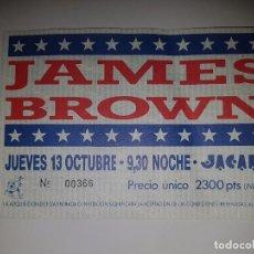 Entradas de Conciertos: JAMES BROWN. Lote 98615783