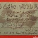 Entradas de Conciertos: ENTRADA DE CONCIERTO BARON ROJO MAGO DE OZ 1999. Lote 100645975