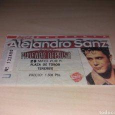 Entradas de Conciertos: ANTIGUA ENTRADA ALEJANDRO SANZ. Lote 103687084