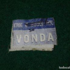 Entradas de Conciertos: PASE BACKSTAGE ACCESO VONDA SHEPARD WORLD TOUR 2000 (NYLON ROTO EN DOS). Lote 106433391