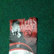 Entradas de Conciertos: PASE BACKSTAGE ACCESO LUIS MIGUEL TOUR 2007 (NYLON). Lote 106408979