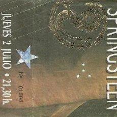 Entradas de Conciertos: BRUCE SPRINGSTEEN CONCIERTO 1992 PLAZA MONUMENTAL BARCELONA. Lote 109366195