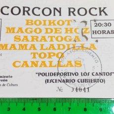 Biglietti di Concerti: RARÍSIMA ENTRADA CONCIERTO MAGO DE OZ. ALCORCÓN ROCK 5 SEPTIEMBRE 1998. POLIDEPORTIVO LOS CANTOS.. Lote 111224324