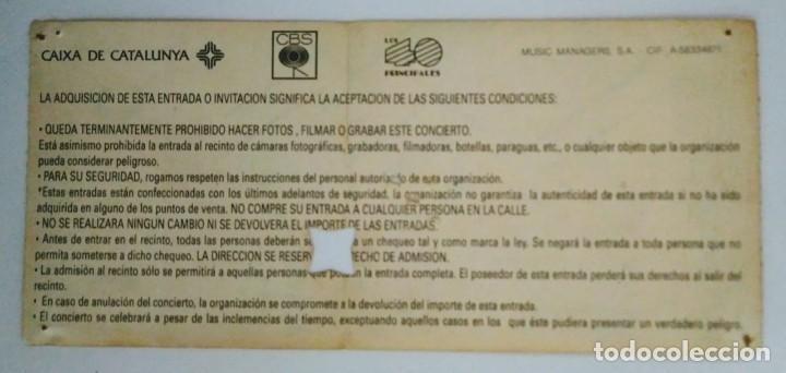 Entradas de Conciertos: ENTRADA ORIGINAL CONCIERTO ROLLING STONES URBAN JUNGLE TOUR 14/6/1990 - Foto 2 - 115303955