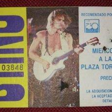 Entradas de Conciertos: ENTRADA CONCIERTO STING 25 DE MAYO 1988. Lote 116646435