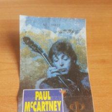 Entradas de Conciertos: ENTRADA PAUL MCCARTNEY THE BEATLES BARCELONA. Lote 118968694