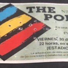 Entradas de Conciertos: ENTRADA ORIGINAL DEL CONCIERTO DE THE POLICE MADRID ESTADIO ROMAN VALERO 30 SEPTIEMBRE 1983. Lote 119095075