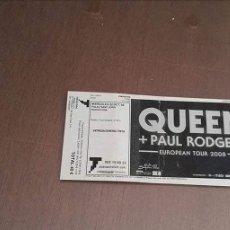 Entradas de Conciertos: QUEEN PAUL RODGERS. Lote 126078443