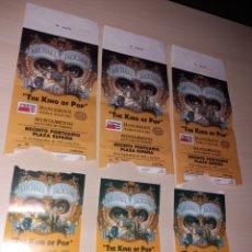 Entradas de Conciertos: 3 ENTRADAS CON PASE VIP, MICHAEL JACKSON - DANGEROUS WORLD TOUR 1993 - TENERIFE. Lote 130815520