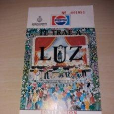 Entradas de Conciertos: ANTIGUA ENTRADA, LUZ - TENERIFE. Lote 130910996