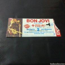Entradas de Conciertos: A1. 333. ENTRADA DEL CONCIERTO. BON JOVI. Lote 131106663