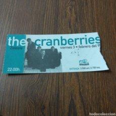 Entradas de Conciertos: A1. 243. ENTRADA DEL CONCIERTO. THE CRANBERRIES. Lote 131111468