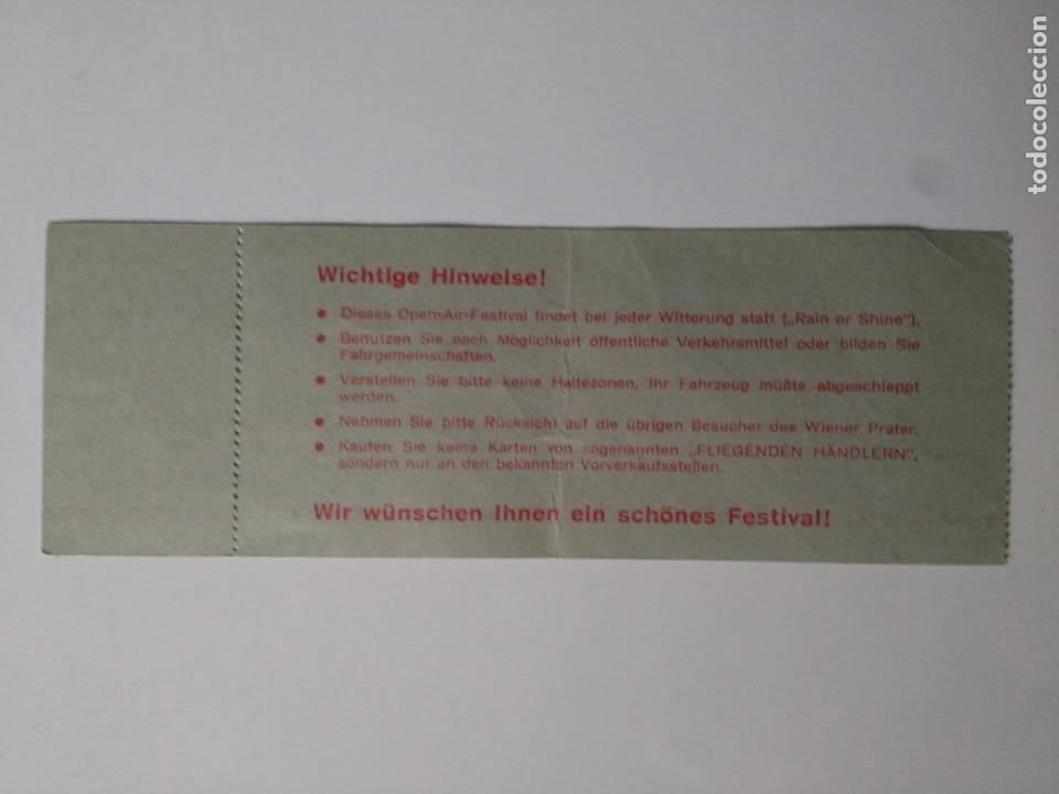 Entradas de Conciertos: Entrada Rolling Stones - Wiener Praterstadion - Viena, Austria, 1982 - Foto 2 - 138864830