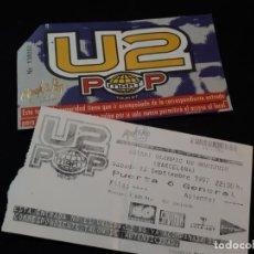Entradas de Conciertos: ENTRADA ORIGINAL DEL CONCIERTO DE U2 EN BARCELONA 13 SEPTIEMBRE 1997 ESTADIO MONTJUIC. Lote 151848202
