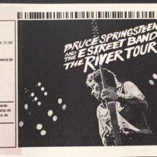 Billets de concerts: BRUCE SPRINGSTEEN - ENTRADA SIN CORTAR THE RIVER TOUR 2016. Lote 195959807