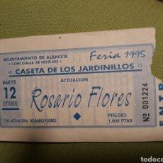 Entradas de Conciertos: ENTRADA. ROSARIO FLORES. Lote 153103546