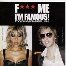 Entradas de Conciertos: FLYER / PACHA IBIZA / DAVID GUETTA - F*** ME I,M FAMOUS / JUNIO 2012. Lote 155481540