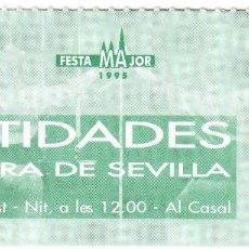Entradas de Conciertos: ENTRADA CONCIERTO - IDENTIDADES - LA CUADRA DE SEVILLA . Lote 156712534