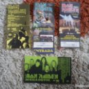 Entradas de Conciertos: 4 ENTRADAS CONCIERTOS IRON MAIDEN. Lote 161205102