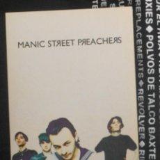 Entradas de Conciertos: MANIC STREET PREACHERS POSTAL PROMO ORIGINAL EUROPEAN TOUR 1994. Lote 211763441
