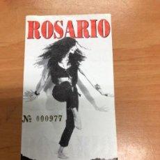 Entradas de Conciertos: ENTRADA CONCIERTO ROSARIO CAMP DE FUTBOL DE RUBI . Lote 162927582