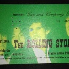 Entradas de Conciertos: ENTRADA CONCIERTO THE ROLLING STONES MADRID 1982. Lote 165478433