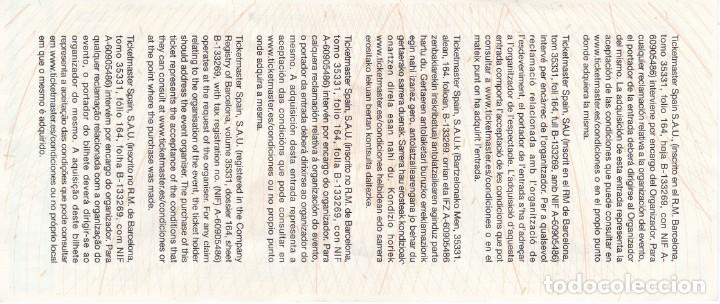 Entradas de Conciertos: ENTRADA DEL CONCIERTO DE MILEY CYRUS DEL AÑO 2014 EN EL PALAU SANT JORDI DE BARCELONA (NUEVA) - Foto 2 - 168380012