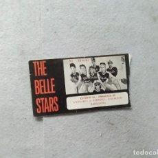 Entradas de Conciertos: ENTRADA CONCIERTO THE BELLE STARS 22 DE FEBRERO BARCELONA ESTUDIO 54 . Lote 169281192
