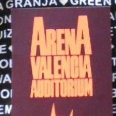 Entradas de Conciertos: RAMONES PASE ENTRADA BACKSTAGE CONCIERTO ORIGINAL ARENA AUDITORIUM 1991 VALENCIA SPAIN. Lote 169342048