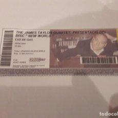 Entradas de Conciertos: ENTRADA CONCIERTO JAMES TAYLOR EN BARCELONA. Lote 170054552