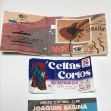 Entradas de Conciertos: ENTRADAS CONCIERTOS. Lote 172796503