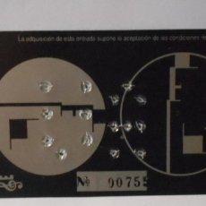 Entradas de Conciertos: BAUHAUS ENTRADA ORIGINAL CONCIERTO ARENA AUDITORIUM VALENCIA SPAIN 1998. Lote 172930399
