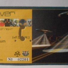 Entradas de Conciertos: DOVER ENTRADA ORIGINAL CONCIERTO ARENA AUDITORIUM VALENCIA SPAIN 1998 CANCELADO Y CAMBIO FECHA. Lote 172930807