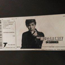 Entradas de Conciertos: ENTRADA TICKET PAUL MCCARTNEY 2004 MADRID . Lote 173865639