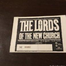Entradas de Conciertos: ENTRADA CONCIERTO THE LORDS LEKEITIO . Lote 176506584