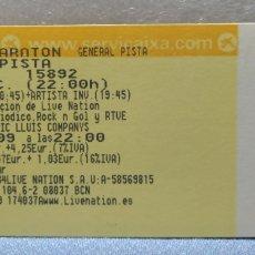 Billets de concerts: ENTRADA ANTIGUA CONCIERTO AC/DC BARCELONA ESTADIO OLÍMPICO 2009. Lote 176854399