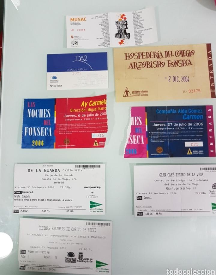 Entradas de Conciertos: Lote entradas conciertos y teatro - Foto 4 - 178810113