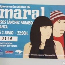 Entradas de Conciertos: LOTE ENTRADAS CONCIERTOS Y TEATRO. Lote 178810113