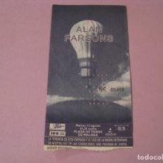 Entradas de Conciertos: ENTRADA CONCIERTO DE ALAN PARSONS. MÁLAGA. PLAZA DE TOROS. AÑO 1997.. Lote 181151266